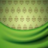 Papel de parede e drapery Imagens de Stock Royalty Free