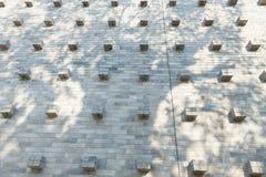 Papel de parede e sombra Imagens de Stock