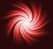 Papel de parede espiral vermelho Imagens de Stock Royalty Free
