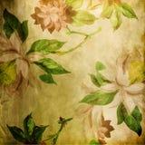 Papel de parede floral ilustração stock