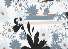 Papel de parede floral abstrato do fundo Foto de Stock
