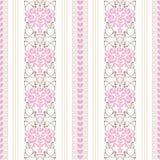 Papel de parede floral clássico Imagens de Stock