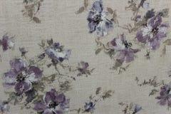 Papel de parede floral do fundo na parede Fotografia de Stock