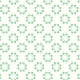 Papel de parede floral do sumário do projeto da ilustração do vetor do fundo do teste padrão da tela da telha da tampa da flor Foto de Stock
