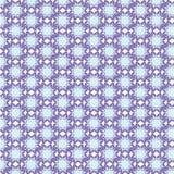 Papel de parede floral do sumário do projeto da ilustração do vetor do fundo do teste padrão da tela da telha da tampa da flor Imagem de Stock