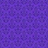 Papel de parede floral do vetor sem emenda Fotos de Stock