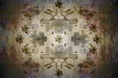 Papel de parede floral do vintage Imagens de Stock Royalty Free