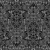 Papel de parede floral do vintage sem emenda Imagem de Stock Royalty Free