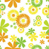 Papel de parede floral sem emenda Imagens de Stock