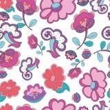 Papel de parede floral sem emenda Fotografia de Stock Royalty Free