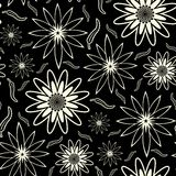Papel de parede floral sem emenda Patt Fotos de Stock