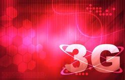 papel de parede 3G esperto para seu texto Imagens de Stock Royalty Free