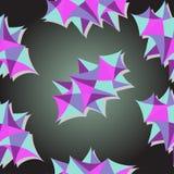 Papel de parede geométrico Ilustração Stock