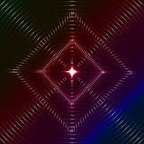 Papel de parede geométrico elegante ilustração stock