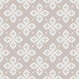 Papel de parede geométrico floral sem emenda do teste padrão Imagem de Stock