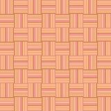 Papel de parede geométrico sem emenda textured laranja Fotografia de Stock