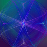 Papel de parede gráfico do sumário da arte Mystical Fotografia de Stock
