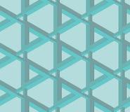 Papel de parede impossível sem emenda do teste padrão do objeto Ilustração Royalty Free
