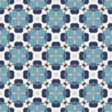 Papel de parede islâmico geométrico sem emenda abstrato do vetor Fotografia de Stock Royalty Free
