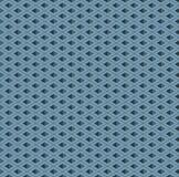 Papel de parede isométrico do cubo ilustração royalty free