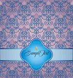 Papel de parede laçado Imagem de Stock Royalty Free