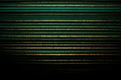 Papel de parede listrado Fundo verde-claro em uma listra horizontal da cor do ouro, escurecida, vinheta Foto de Stock Royalty Free