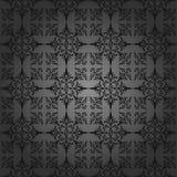 Papel de parede luxuoso do carvão vegetal. Sem emenda. Teste padrão Imagem de Stock Royalty Free