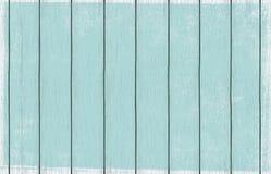 Papel de parede de madeira pintado do fundo com claro - pintura azul da cor fotos de stock royalty free