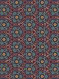 Papel de parede marroquino do teste padrão do projeto Imagem de Stock Royalty Free