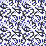 Papel de parede matemático Imagens de Stock