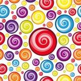 Papel de parede Multicolor sem emenda. ilustração do vetor