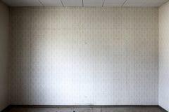 Papel de parede no quarto desencapado Foto de Stock Royalty Free