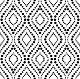 Papel de parede ondulado sem emenda do ornamento imagem de stock royalty free