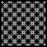 Papel de parede preto e branco da telha da textura ilustração stock