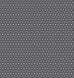 Papel de parede preto e branco do teste padrão de estrela Imagem de Stock Royalty Free