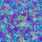 Papel de parede psicadélico do fundo abstrato colorido Ilustração Stock
