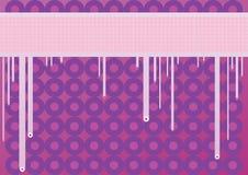 Papel de parede rasgado na cor morna Fotografia de Stock Royalty Free