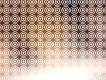 Papel de parede retro branco de Brown Imagens de Stock