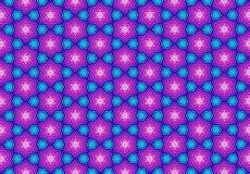 Papel de parede roxo azul cor-de-rosa do teste padrão do geomatics Imagem de Stock