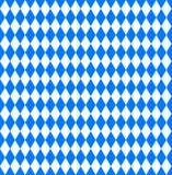 Papel de parede sem emenda Bandeira bávara de Oktoberfest ilustração royalty free