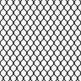 Papel de parede sem emenda da textura do teste padrão da cerca do elo de corrente Fotografia de Stock Royalty Free