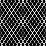 Papel de parede sem emenda da textura do teste padrão da cerca do elo de corrente Imagens de Stock Royalty Free