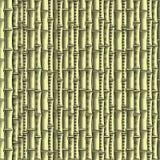Papel de parede sem emenda de bambu (, CMYK) Ilustração Stock