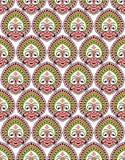 Papel de parede sem emenda de paisley do vetor Imagens de Stock Royalty Free