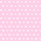 Papel de parede sem emenda do coração ilustração stock