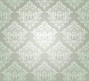 Papel de parede sem emenda do damasco Fotos de Stock Royalty Free