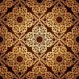 Papel de parede sem emenda do teste padrão Background.Damask. Imagens de Stock Royalty Free