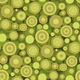 Papel de parede sem emenda dos círculos Imagem de Stock Royalty Free