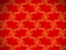 Papel de parede sem emenda floral Imagens de Stock