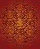 Papel de parede sem emenda floral Imagem de Stock